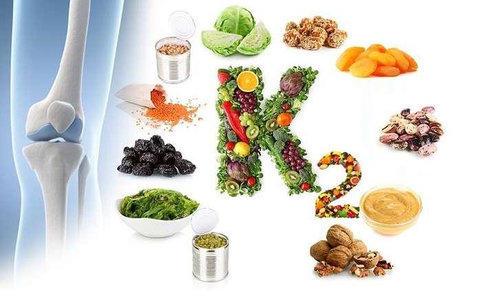 Vitamin K2 giúp canxi vào xương hiệu quả hơn từ đó giúp xương tăng cả về độ dày và độ dài
