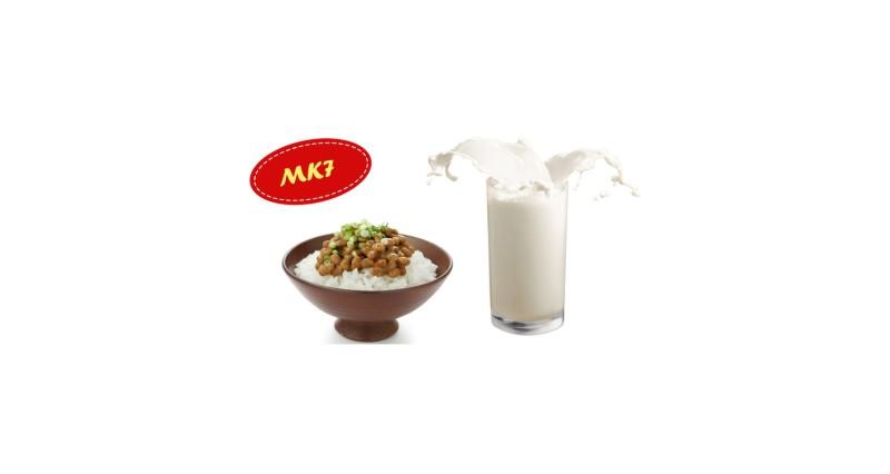 MK7 có nhiều trong sữa, phô mai, đậu tương lên men Nhật Bản