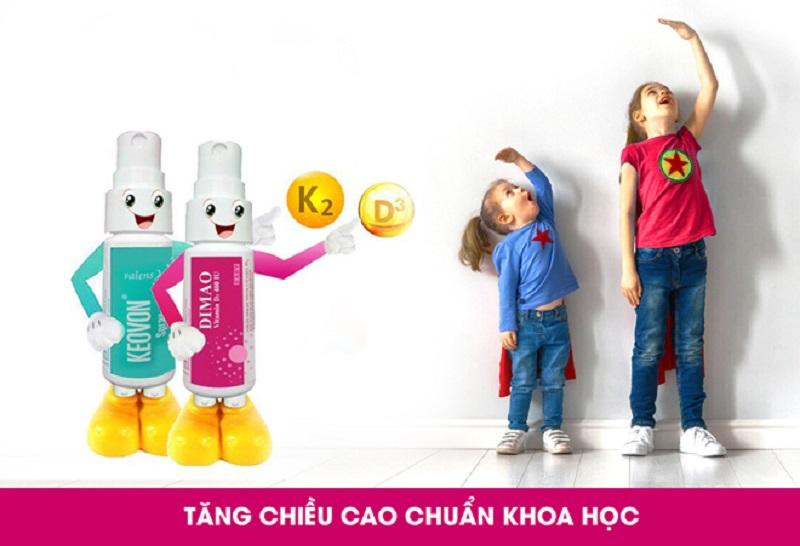 Bộ đôi tăng chiều cao dạng xịt duy nhất ở Việt Nam