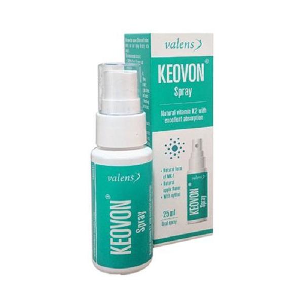 Keovon - Vitamin K2 MK7 tự nhiên dạng xịt nhập khẩu Châu Âu duy nhất tại Việt Nam