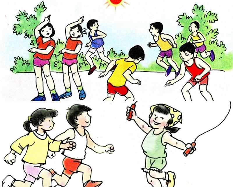 Các hoạt động vui chơi, thể dục thể thao giúp trẻ tăng sức đề kháng và tăng chiều cao