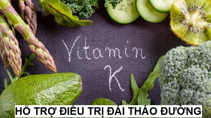 Vitamin K là một hướng đi mới để điều trị bệnh đái tháo đường