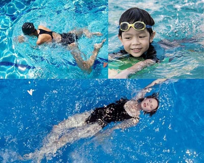 Bơi lội khiến cơ thể sẽ được kéo giãn tối đa, các khớp xương linh hoạt hơn