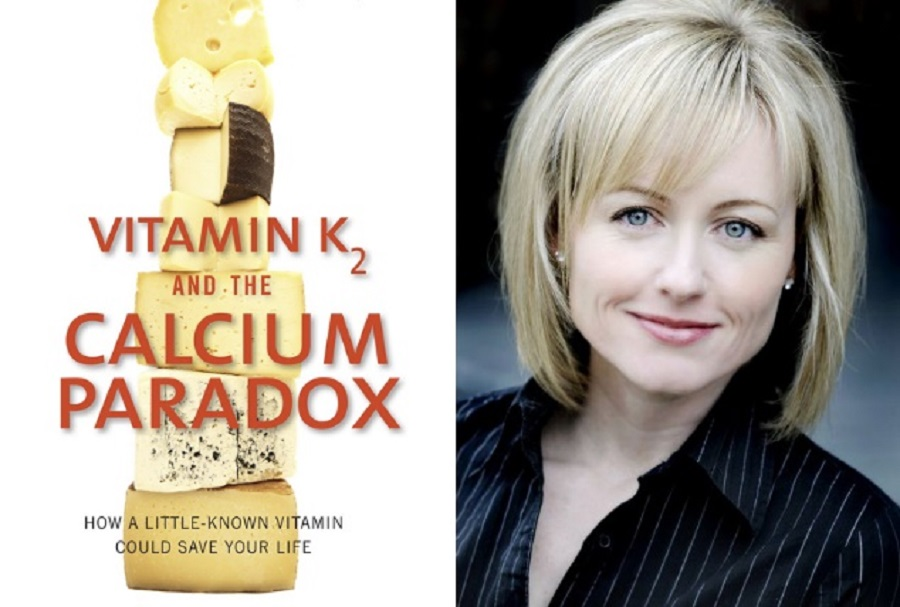 """cuốn sách """"nghịch lý canxi và vai trò của vitamin k2"""""""
