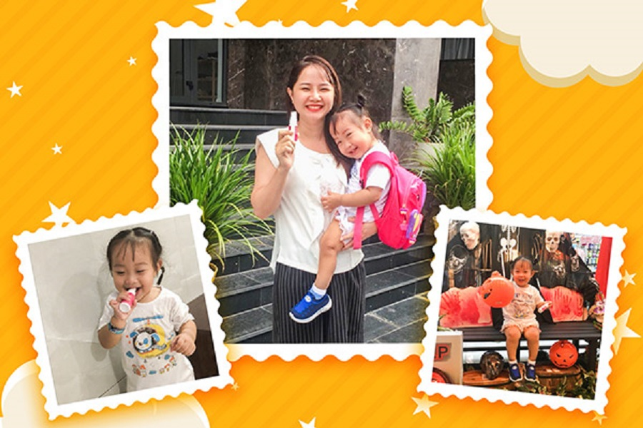 Mẹ hạnh phúc khi tìm được Dimao vitamin D3 phù hợp cho con