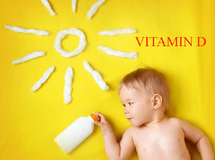 vitamin D tổng hợp dưới nắng mặt trời