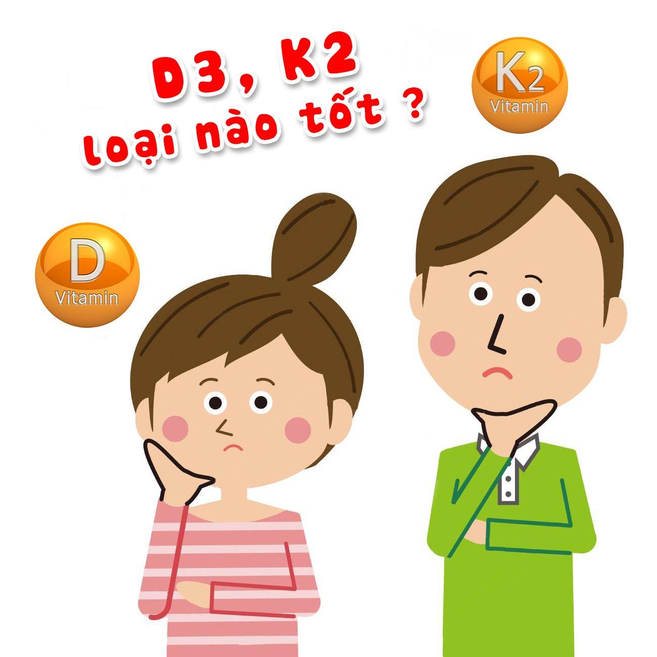 Bố mẹ nên chọn đúng loại vitamin D3 và K2-MK7